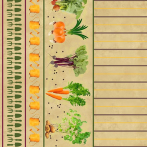 My Vegetable Garden Vegetables