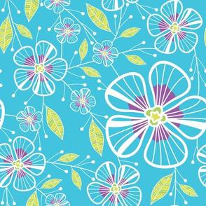 A Blue Bouquet