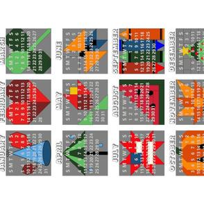 2021 Quilt Sampler Calendar by Shari Lynn's Stitches