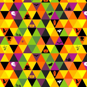 Halloween Triangles