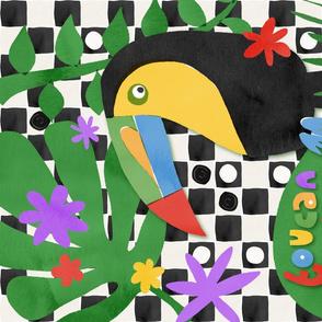 Toucan Play Tea Towel