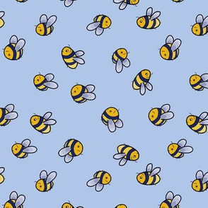A tumble of bees