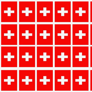Swiss flag, traditional