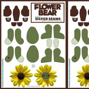 Flower Bear - Sunflower