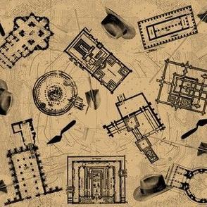 archaeologists - parchment