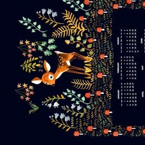 bambi calendar 2021