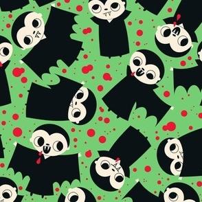vampire fabric green