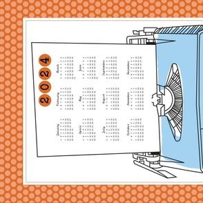 Typewriter Calendar 2021