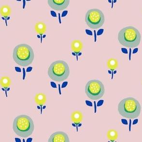 petit flower yellow