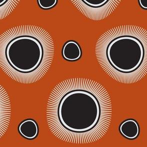 Spikey Dots | Paprika