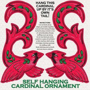 Cardinal Hanging Ornament