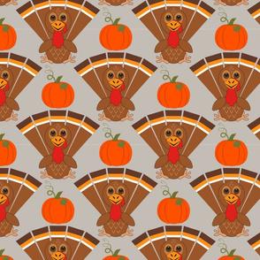 Turkeys & Pumpkins