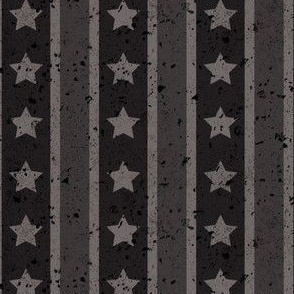 Stars and Stripes Dark Monochromatic