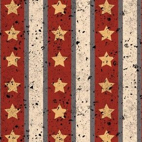 Stars and Stripes Light Red