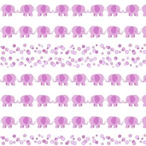 Pink Elephants Rows