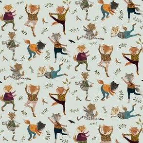 park life fox yoga {small}