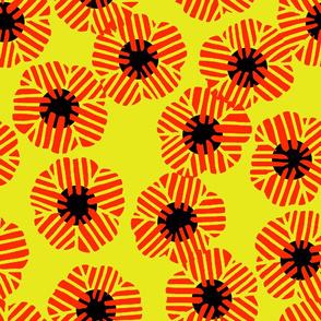 batik_flower_random_vermilion_yellow