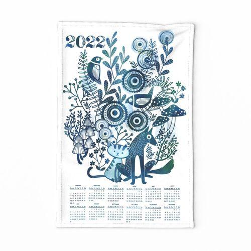 2019 indigo garden friends calendar