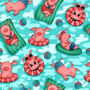 Summer Loving Piggies