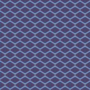 PA_33392 C Blue & Purple Diamond Abstract