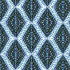 PA_33392 B Blue Diamond Abstract