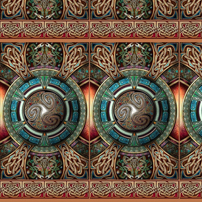 Triskelion Mandala