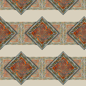 Celtic Knotwork Diamond Panels