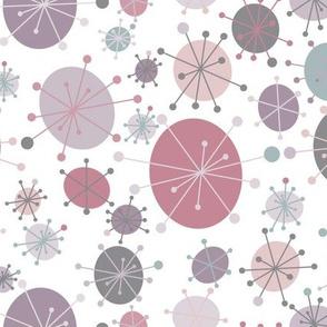 Purple Mod Circles
