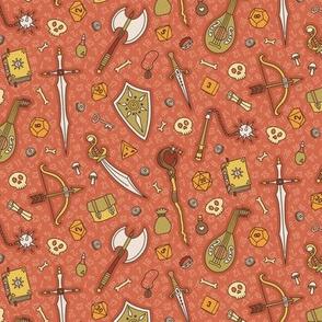 RPG Quest Small in Orange Naturals
