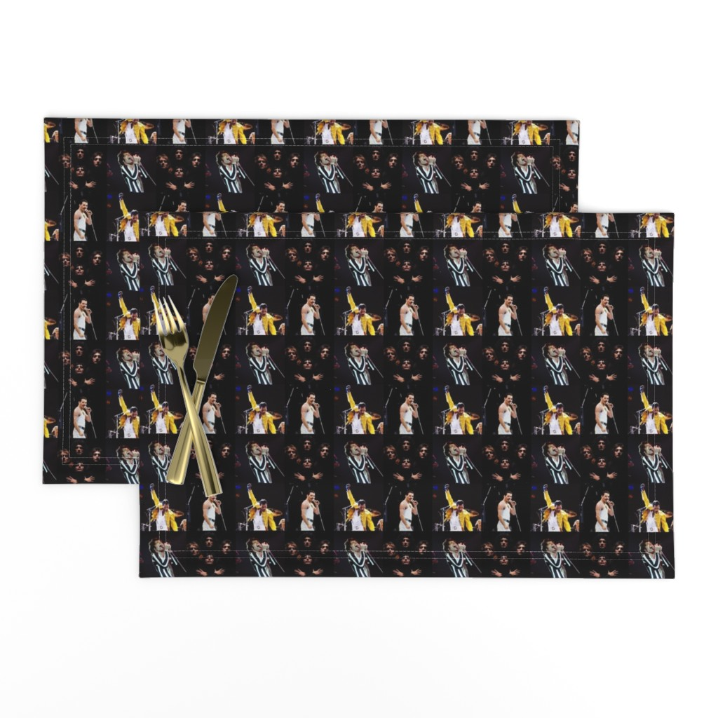 Lamona Cloth Placemats featuring Freddie and Friends by jmcater