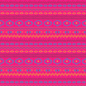 Southwest Stripe (pink)