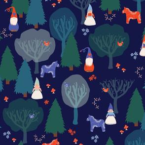 Liten Natt Skog