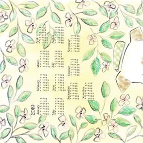 2020 Calendar: Pink Lemonade Dogs - © Lucinda Wei