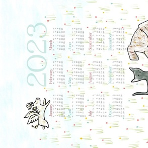 2020 Calendar: Wild + Free - © Lucinda Wei