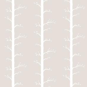 Budding Branches, Vintage Cotton