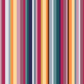 Mountain stripes - winter