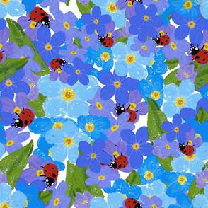 Large -Forget me not - Alaska flower