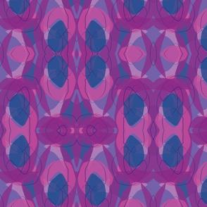 Midcentury Endpaper Purple Background-01-01