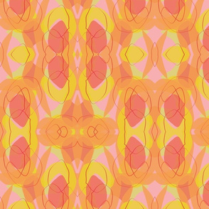 Midcentury Peach Background-01-01