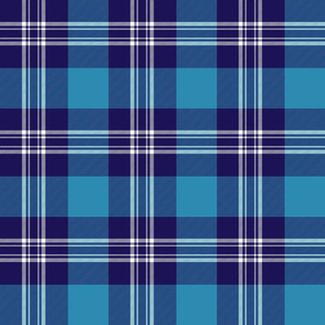 "Earl of St. Andrews / St. Andrews District tartan, 6"""