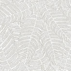 Beaded Melia Driftwood on White 150