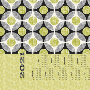 2020 is avocado, a tea towel calendar by Su_G_©SuSchaefer(UPDATED)