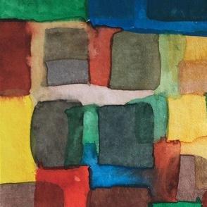 Watercolour sqaures