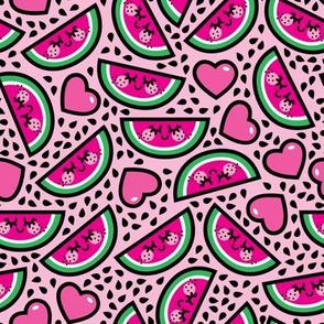aloha watermelon heart scatter