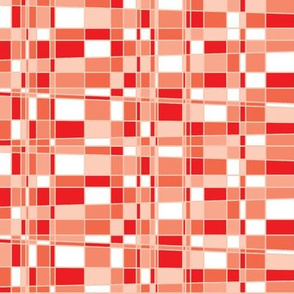 Mod Gingham - Red
