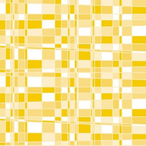 Mod Gingham - Yellow