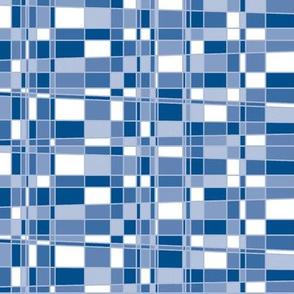 Mod Gingham - Blue