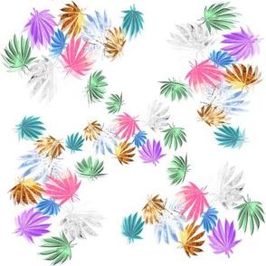 Shiny Indica Leaf Pattern