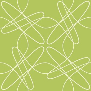 Tangly Lines - S - Green