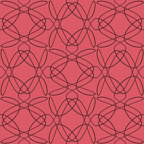 Tangly Lines - U - Pink